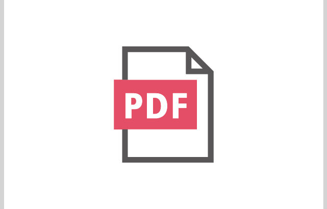 増えています!PDF納品